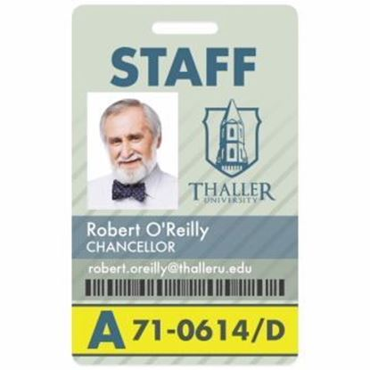 Picture of Vertical Name Badge