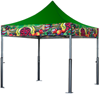 Picture of Tents : X-PERT V3 : Solid Top w/ Printed Valance : 10'x20'