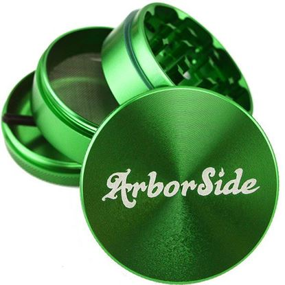 Picture of Laser Engraved Herb Grinder 62mm ST (Image)
